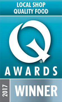 Local Shop Quality Food - Q AWARDS 2017 Winner