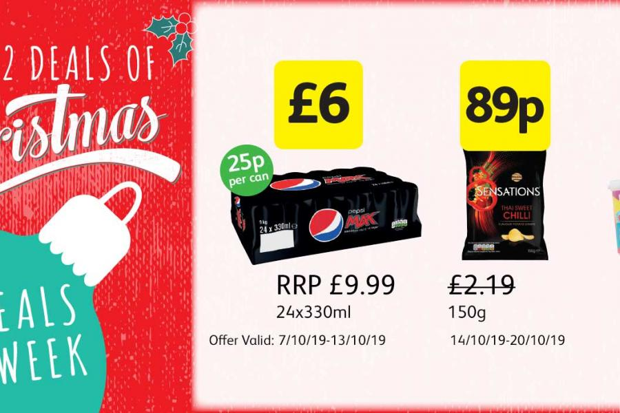 12 Deals of Christmas at Londis