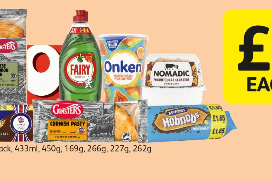£10 each on selected products at Londis