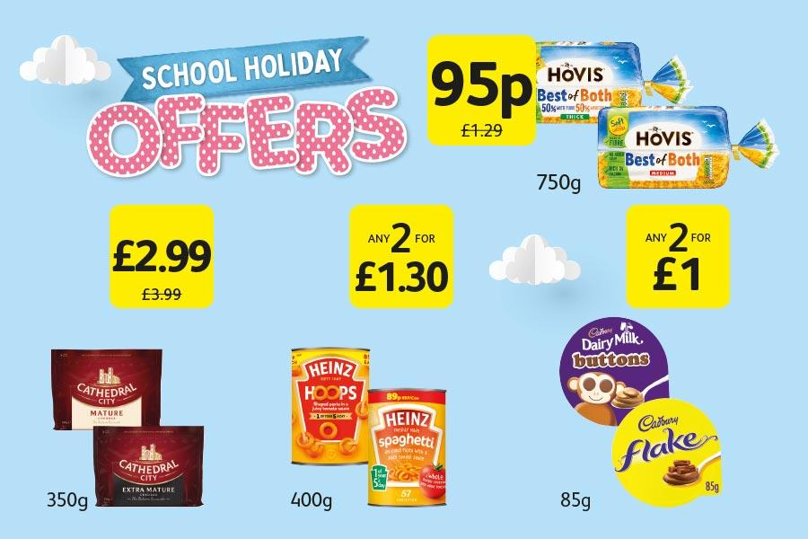 School Holiday Offers at Londis