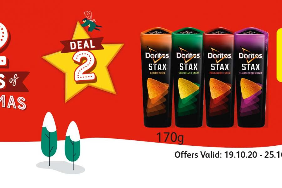 12 Deals of Christmas (Deal 2) Offer Valid: 19.10.20 - 25.10.20 at Londis
