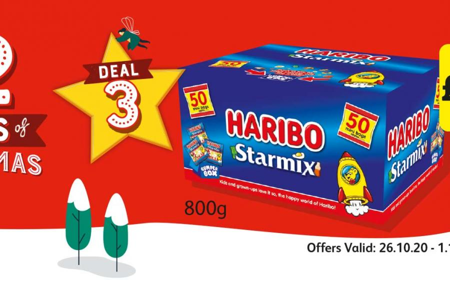 12 Deals of Christmas (Deal 3) Offer Valid: 26.10.20 - 1.11.20 at Londis