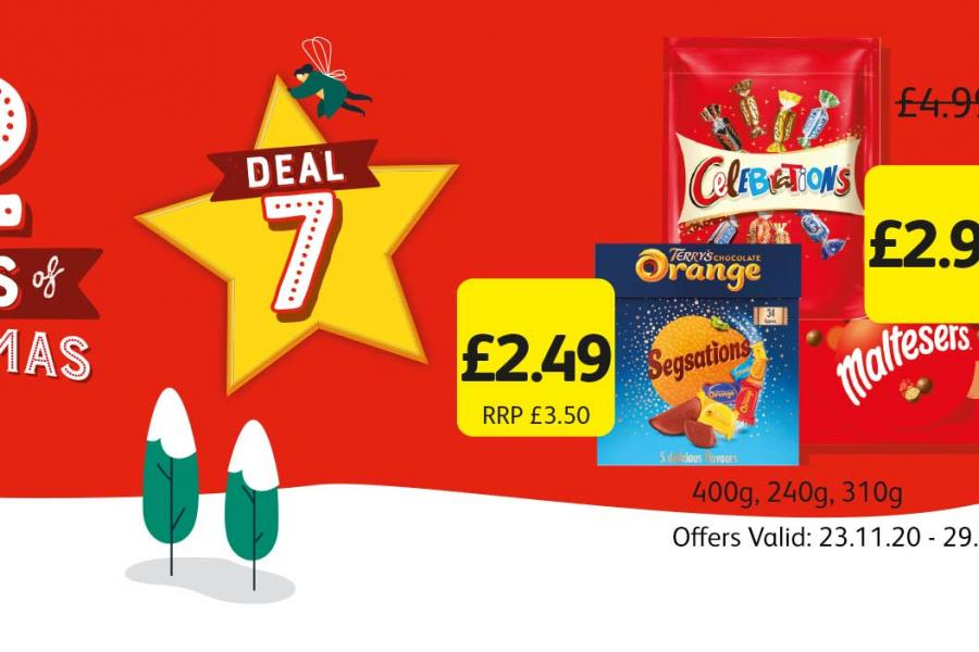 12 Deals of Christmas (Deal 3) Offer Valid: 23.11.20 - 29.11.20 at Londis