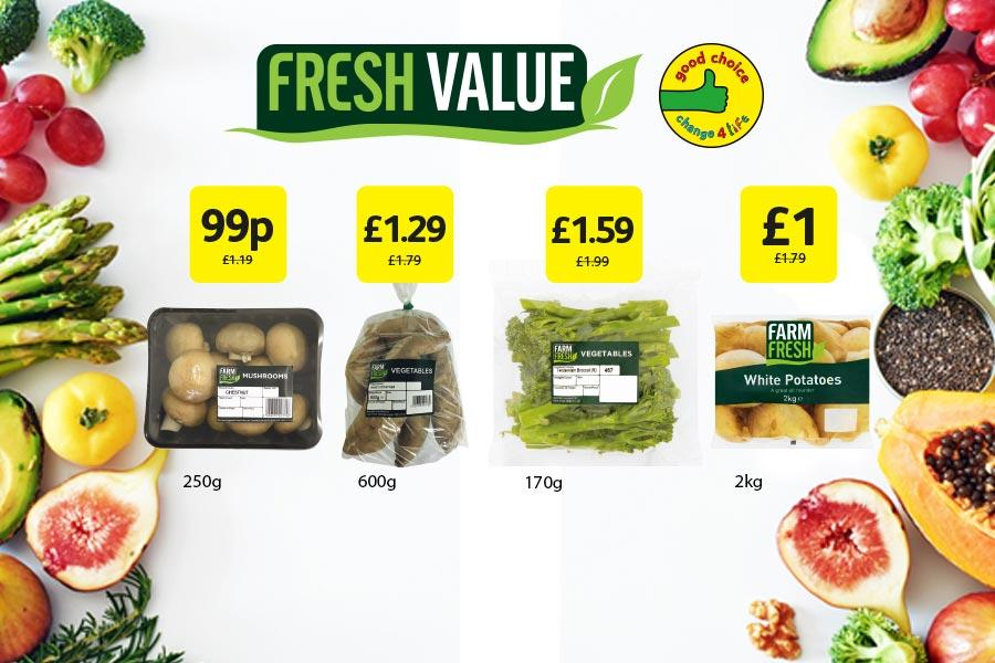 Fresh Value at Londis