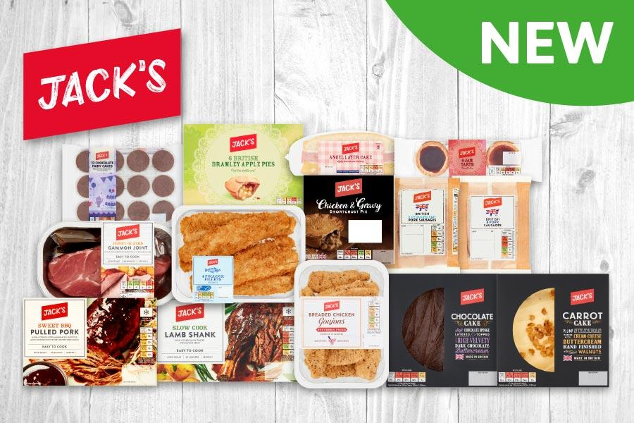 New Jack's Range now available in store at Londis