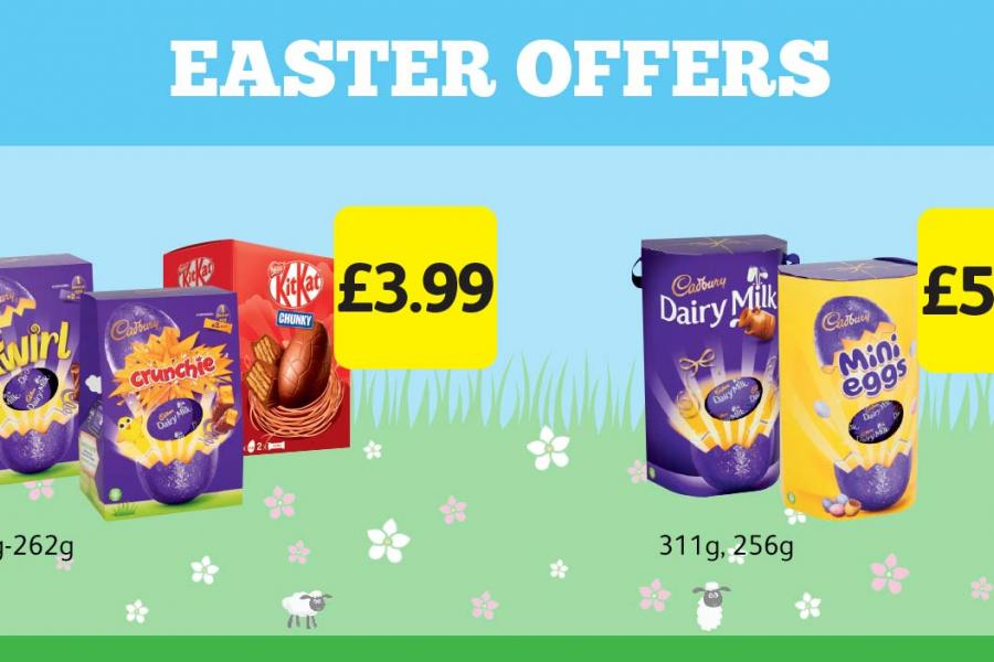 Easter Offers at Londis