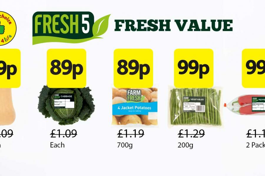 Fresh 5 Deals at Londis