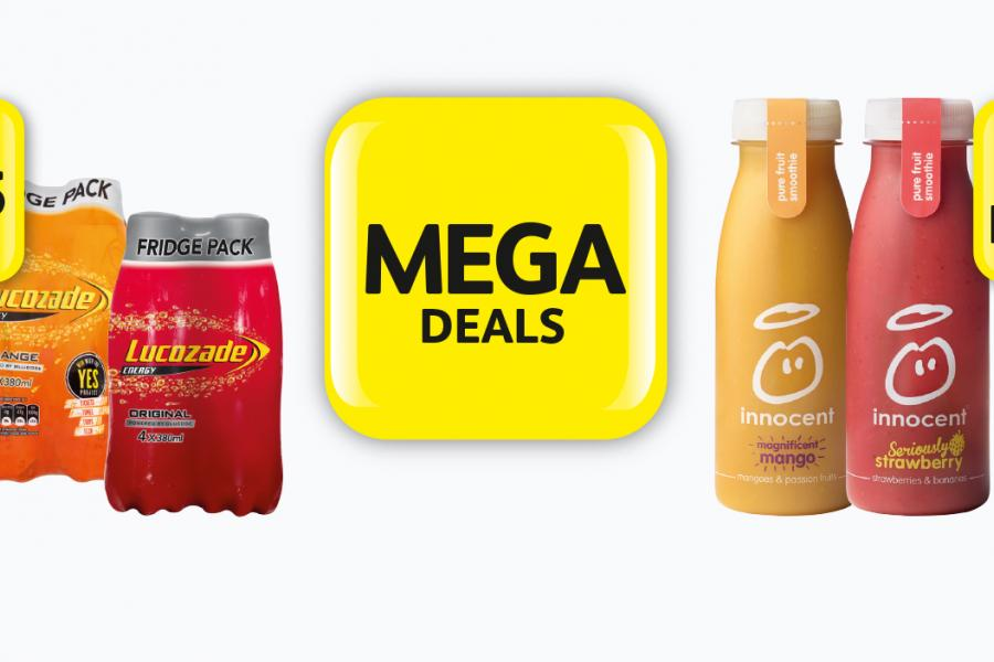 MEGA DEALS: Lucozade Energy 4 Pack - Only £1.75 at Londis