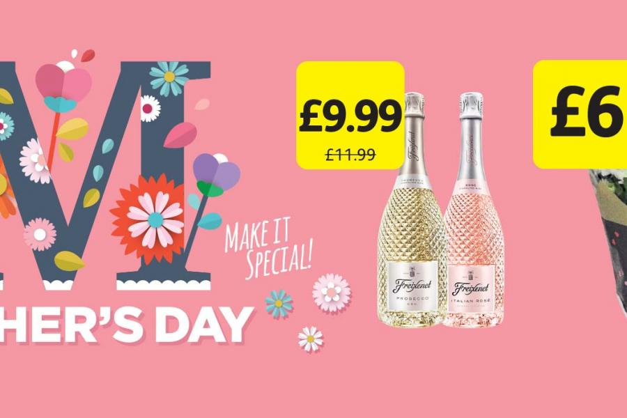 Mother's Day offers at Londis