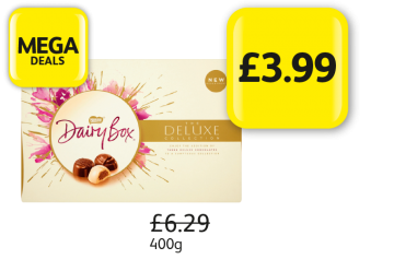 MEGA DEALS: Dairy Box Deluxe, Was £6.29 - Now Only £3.99 at Londis