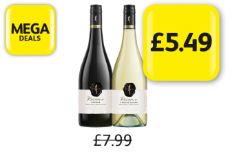 MEGA DEALS: Kumala Reserve Shiraz, Chenin Blanc, Was £7.99 - Now Only £5.49 at Londis