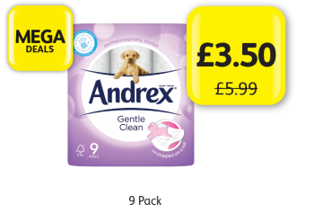 MEGA DEALS: Andrex Gentle Clean, Was £5.99 - Now Only £3.50 at Londis