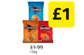 Doritos - Was £1.99 - Now £1 at Londis