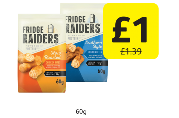 Fridge Raiders, Was £1.39 - Now only £1 at Londis
