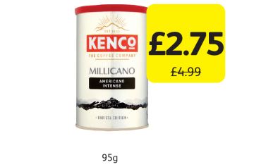 Kenco Millicano Americano Intense, Was £4.99 - Now only £2.75 at Londis