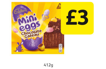 Cadbury Mini Eggs Chocolate Gateau  - £3 at Londis