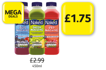 Mega Deals: Naked Machine - Was £2.99, Now Only £1.75 at Londis