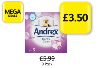 MEGA DEALS: Andrex Gentle Clean - Was £5.99, Now £3.50 at Londis