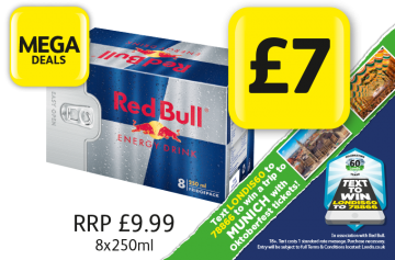 MEGA DEALS: Red Bull Original, RRP £9.99 - £7 at Londis