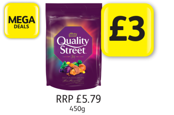 MEGA DEALS: Quality Street,  RRP £5.79 - Now Only £3 at Londis