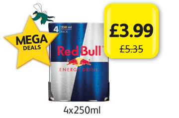 MEGA DEALS: Red Bull Original, Was £5.35 - Now only £3.99 at Londis