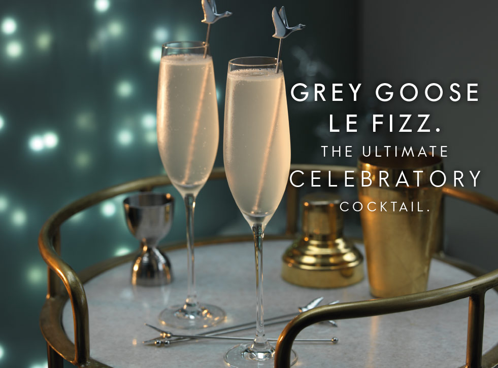 Grey Goose Le Fizz - the ultimate celebratory cocktail